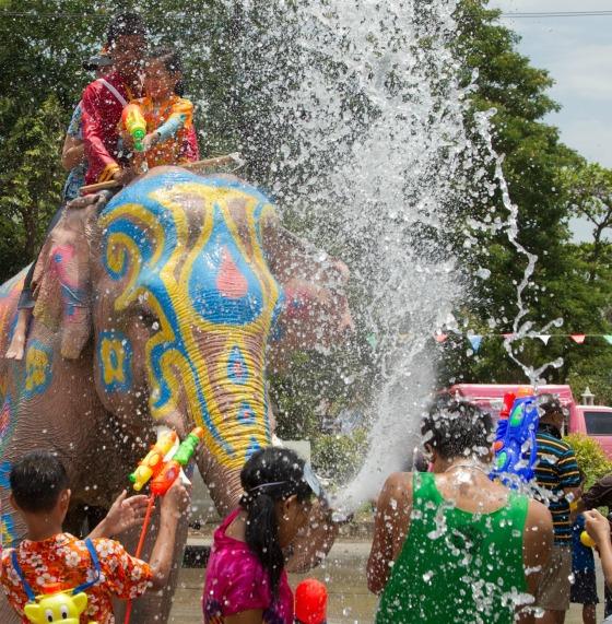Songkran_8_-_Ayutthaya