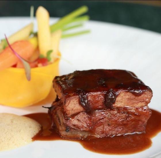 Chef Rouge, ''Côtes du boeuf et penne'' - Foto Bettina Fiuza