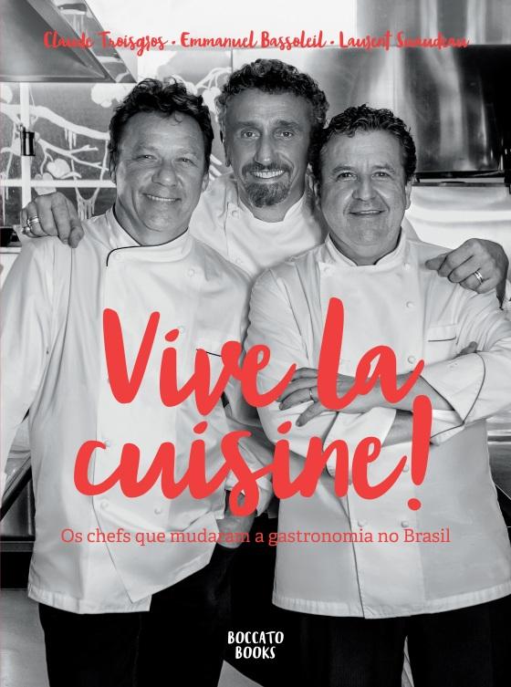 Capa livro Vive la Cuisine